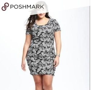 OldNavy 3x palm leaf tshirt dress